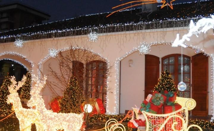 La casa di Babbo Natale. Lapponia? No, Melegnano!