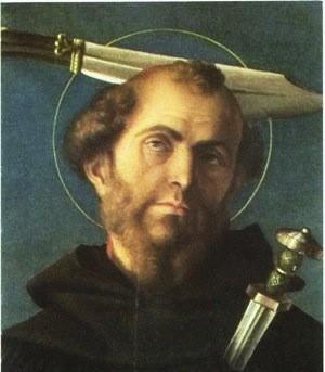 Picchiare la testa in Sant'Eustorgio